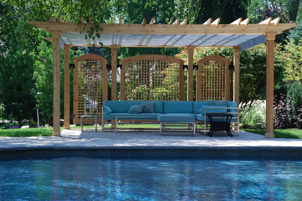 Pergola Tents and Canvas | Canvas Outdoor Shades and ... on Canvas Sun Shade Pergola id=54485